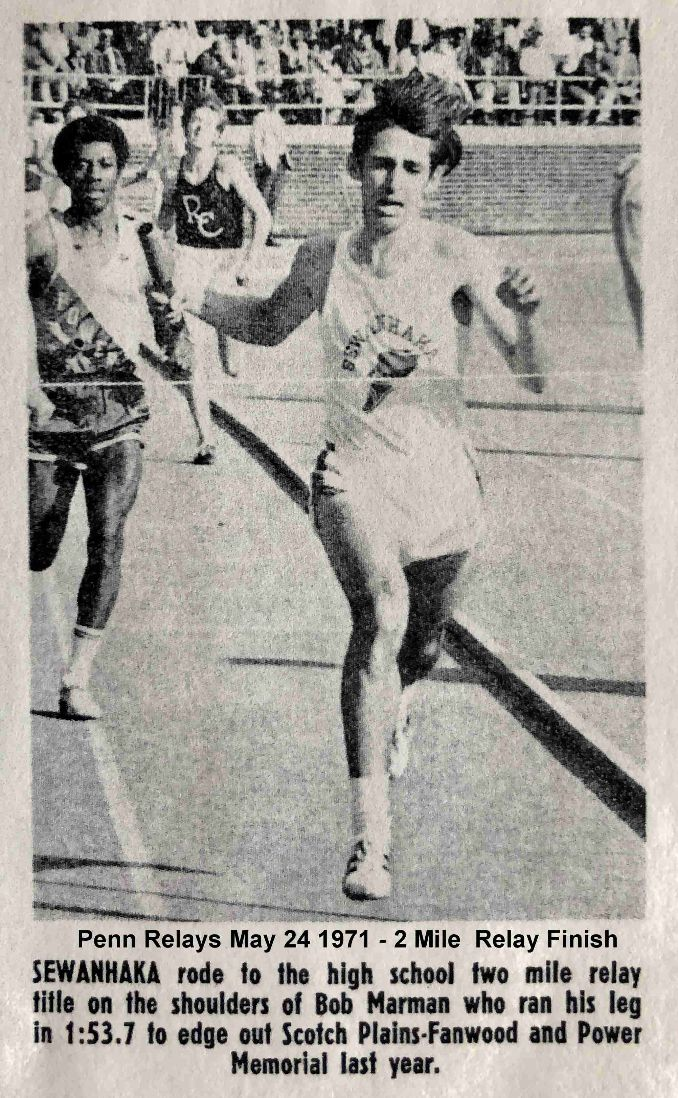 Penn Relays 1971 2MR