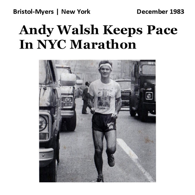 Andy Walsh Keeps Pace