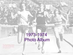 1973-1974 Photo Album Cover