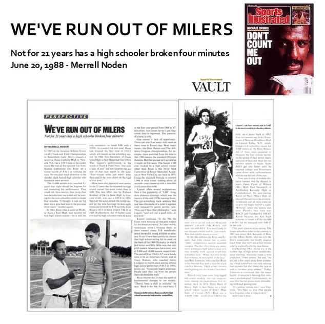 1988-06-20 WE'VE RUN OUT OF MILERS