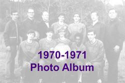 1970-1971 Photo Album