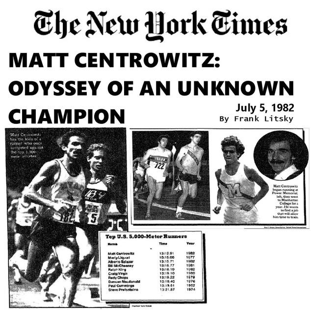 Matt Centrowitz: Odyessy Of An Unknown Champion