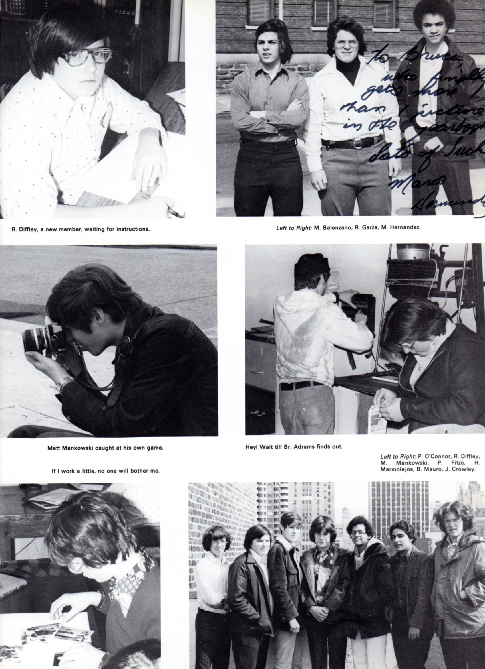 Power '77 Yearbook Team