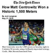 2016-08-21 How Matt Centrowitz won a His