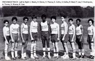 1980 Freshman Track Team