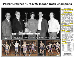 1974 Power Crowned NYC Track Champion Ma