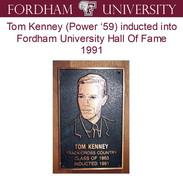 1991 Tom Kenney Fordham HOF