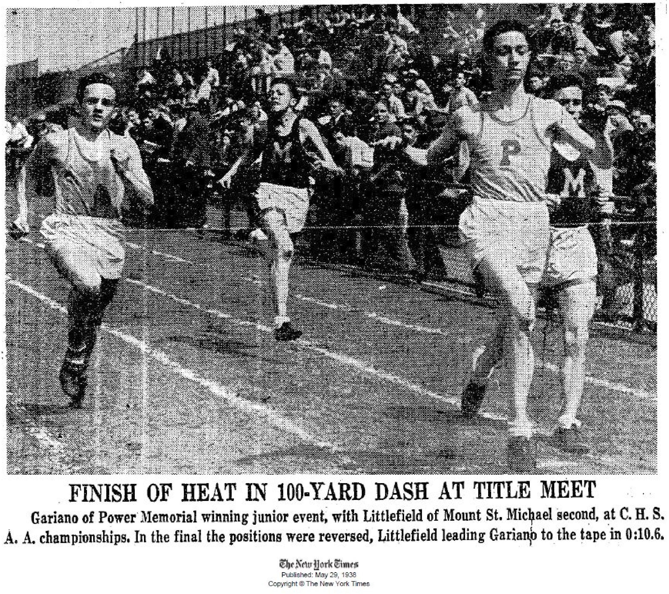 Joseph Gariano 1938_NY Times A