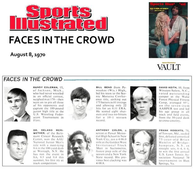1970-08-17 Faces In The Crowd Tony Colon
