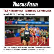 2021-03 TFN Interview w Matthew Centrowitz