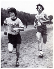 Richard Padron chasing down (class of '83)