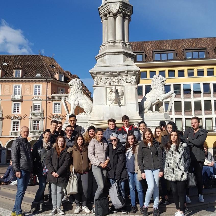 Bolzano gruppo classe