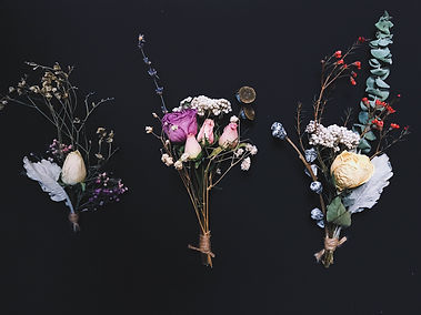 dry flower bouquet group