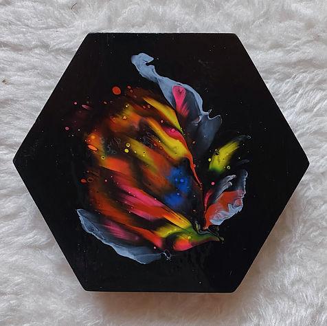 acrylic fluid C