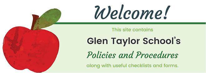 GTS School Policies