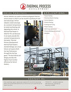 Amine Reboiler Heating, thermal fluid heaters