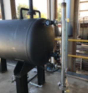 Thermal oil expansion tank, ksb pump, ksb pump parts, expansion tank level gauge,