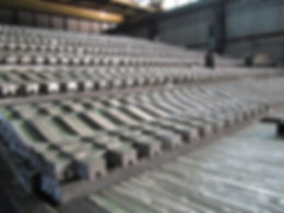 Reciprocating step grate, biomass grate, wood combustion
