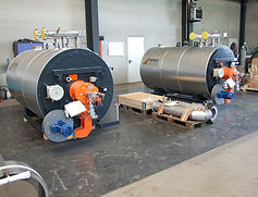 Thermal Fluid heater, gas heater, process heater