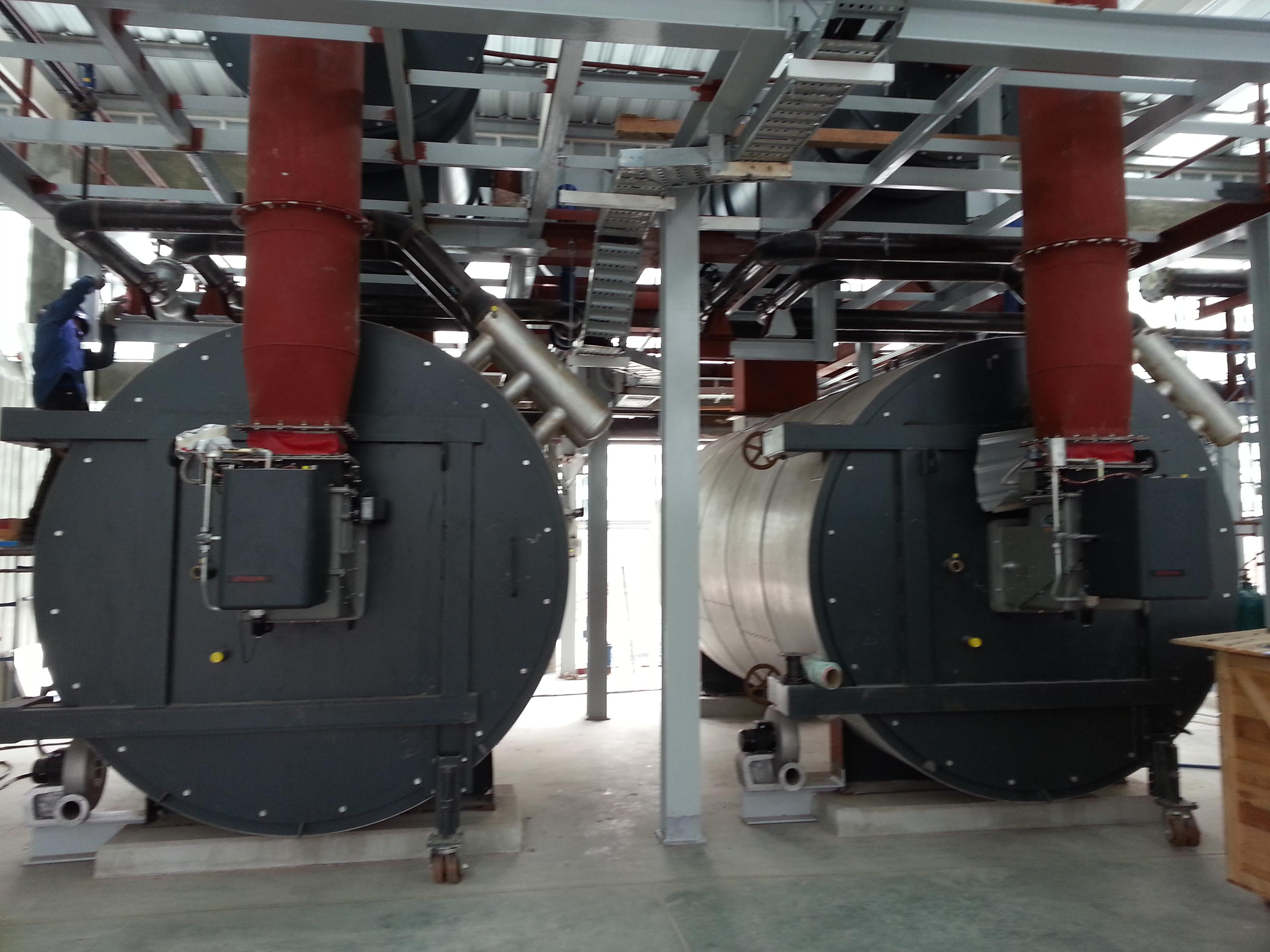 13 MMBtu/hr Thermal Oil Heaters