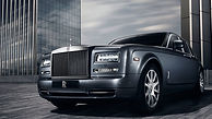 Rolls Royce Phantom wedding car hire London