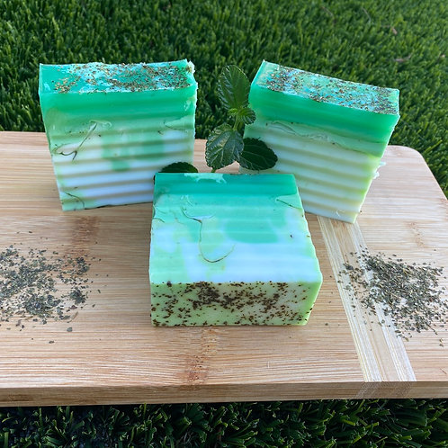 Peppermint Green Tea Bar