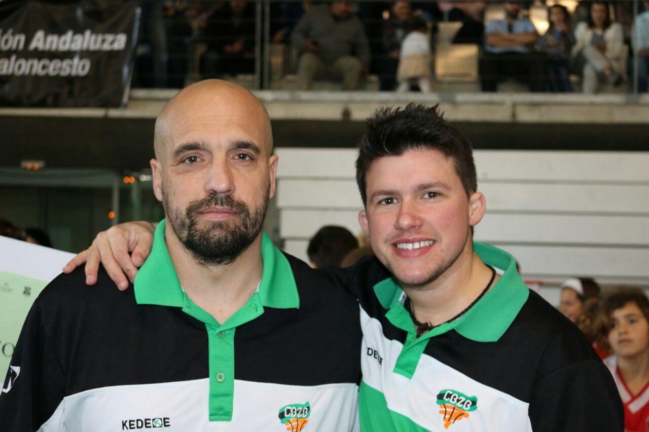 Pepe e Isaac Entrenadores