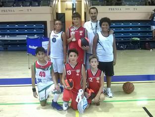 Los Minis campeones del 3c3 del Algeciras