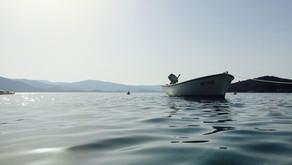 Mais um naufrágio na Ilha do Mel e Requião Filho propõe regras mais claras para embarcações de trave