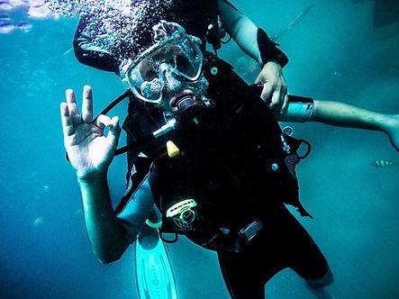 Leçons de plongée