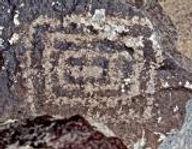 Jornada Mogollon Petroglyph in New Mexico