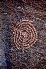 prehistoric art from Sinagua Culture in Arizona