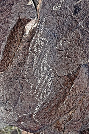 archaeologic art, petroglyph rock art in new mexico