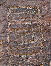 rock art from sinagua culture in arizona