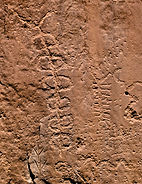 Puebloan petroglyph from New Mexico