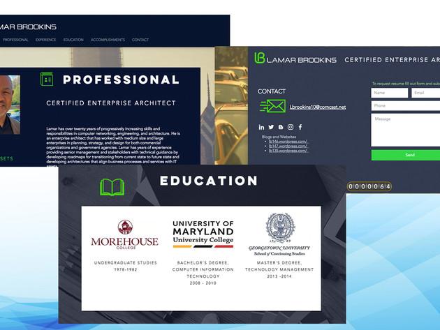 L Brookins Virtual Resume