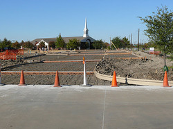 Concrete and Curb