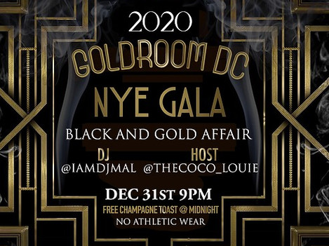 Goldroom Lounge Event Flyer