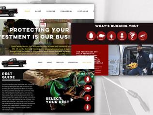 Lanes Termite & Pest Website