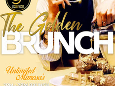 Goldroom Lounge Event Flyer