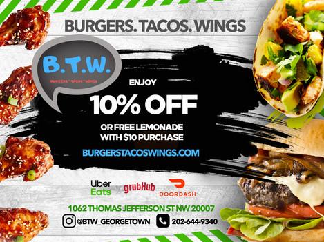 Burgers Tacos & Wings