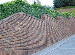 Concrete and Brickwall