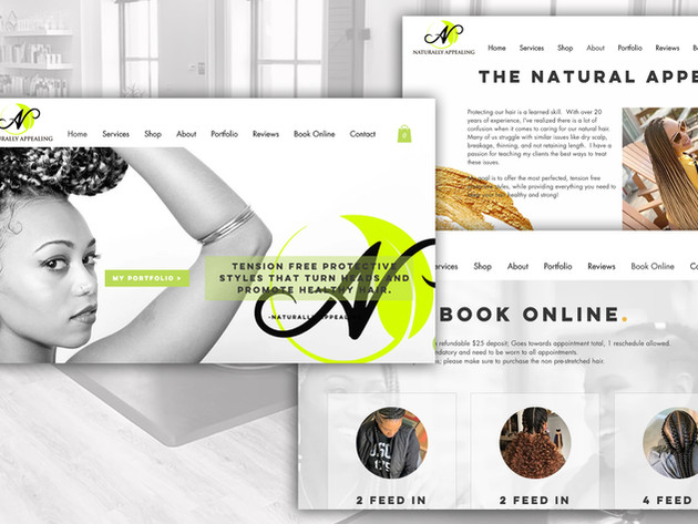 Naturally Appealing Website