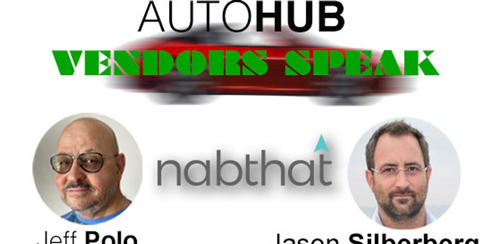 Vendors Speak presents Jason Silberberg CEO Of Nabthat