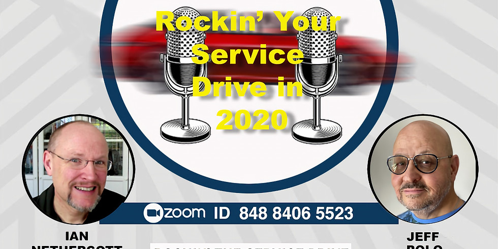 Rockin' The Service Drive in 2020