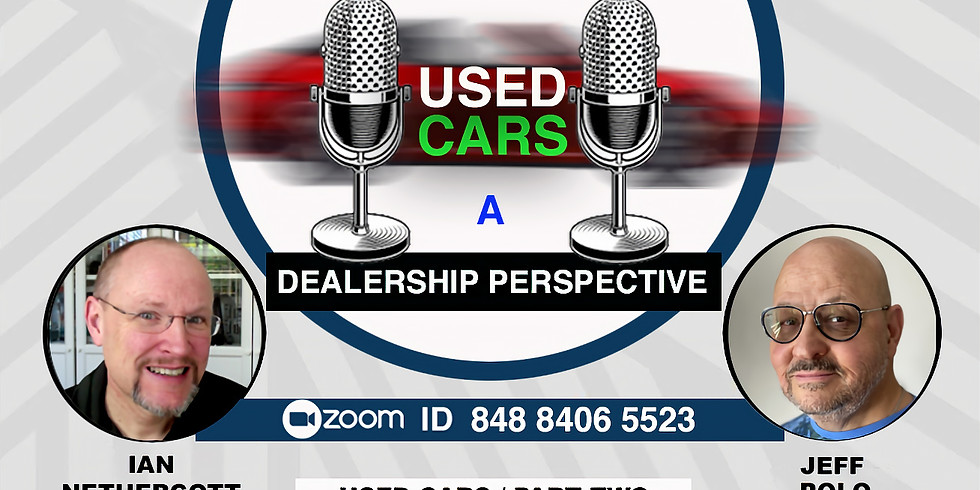 Used Cars Week Two From A Dealer Perspective