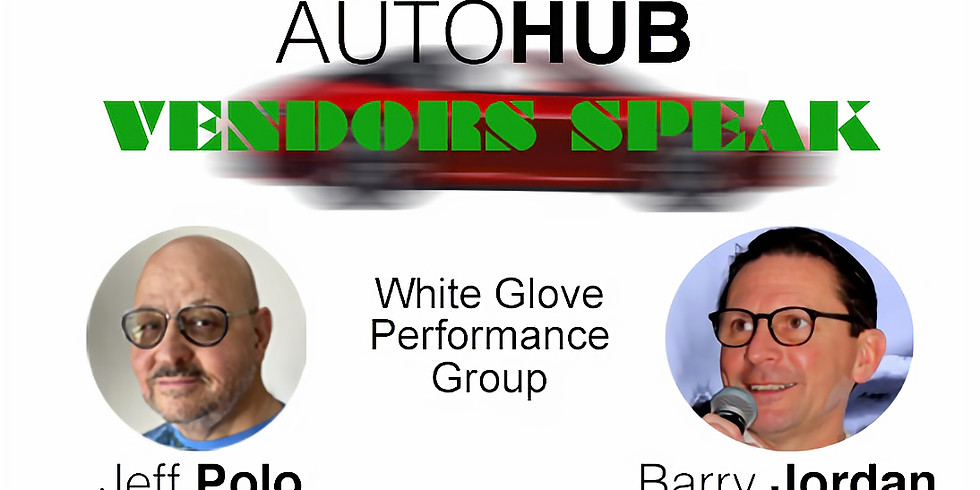 AutoHub Presents Barry Jordan