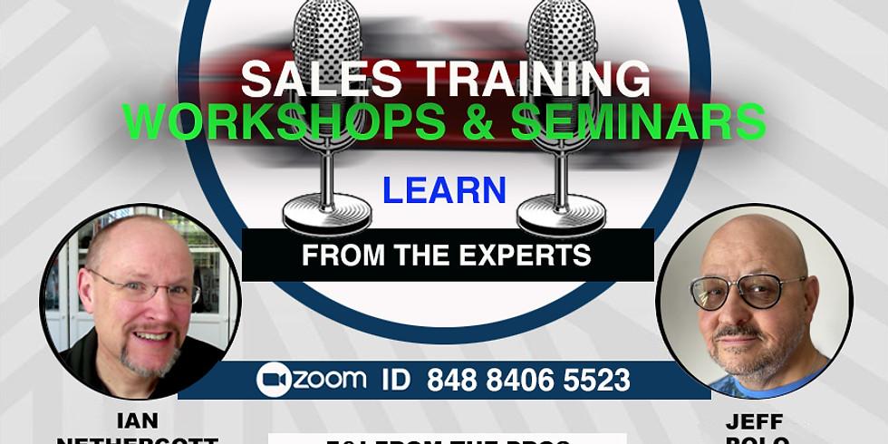 Sales Training Workshops and Seminars