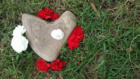 Heart Stone and Carnations.jpg