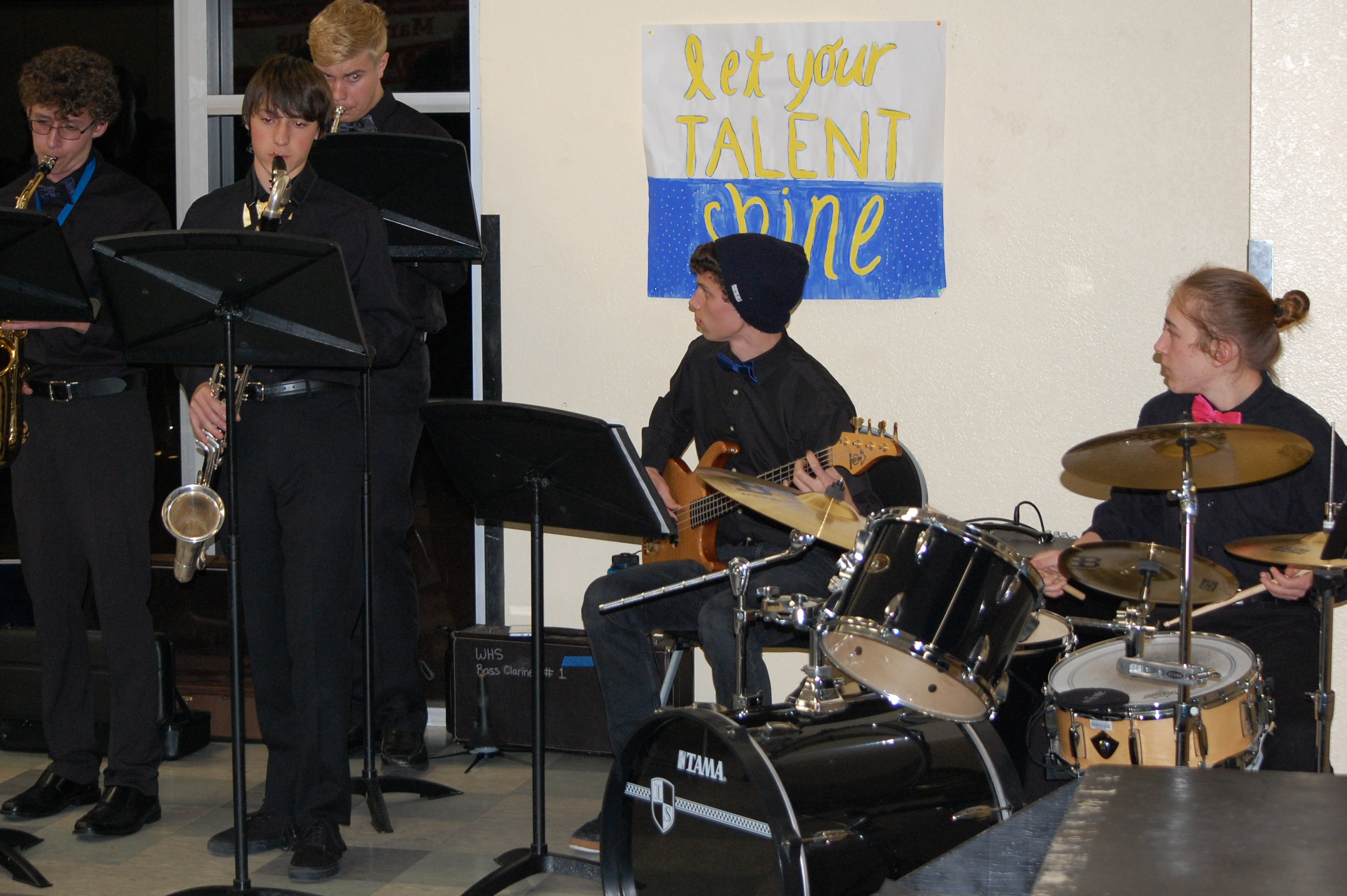 Windsor High Jazz Band